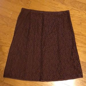 NWOT JH COLLECTIBLES LACE SKIRT